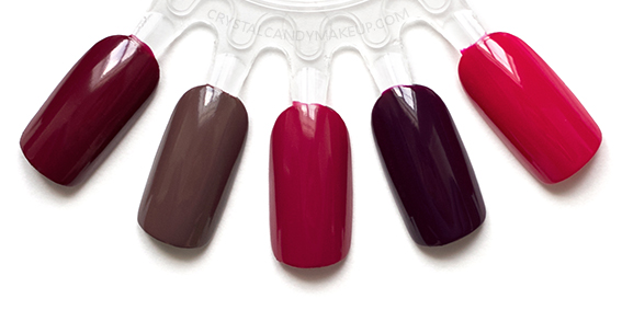 OPI Fall 2016 Washington DC Collection Swatches We Female Squeaker House Popular Vote Kerry Blossom Madam President