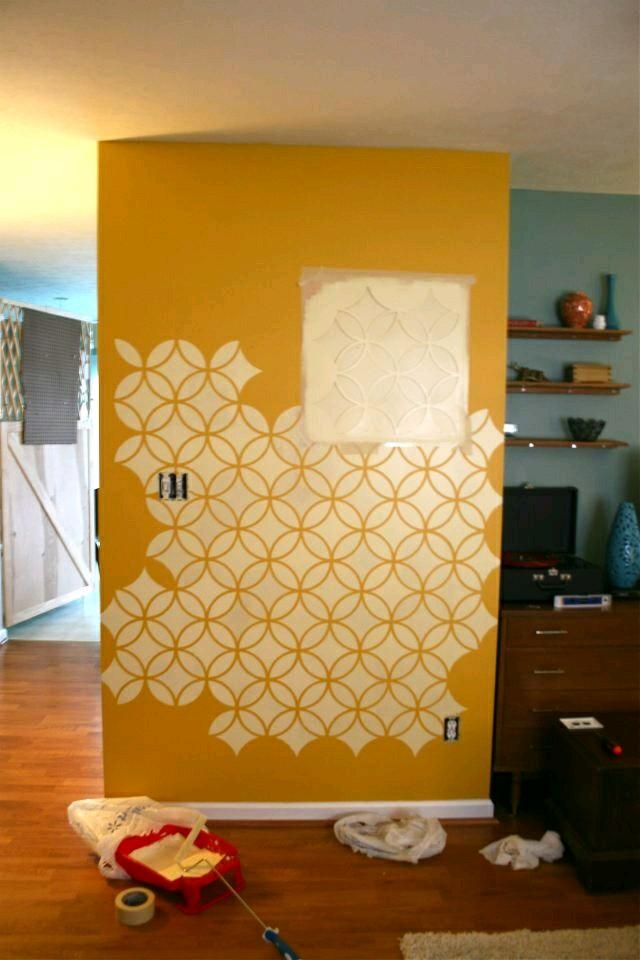 Ideas para pintar las paredes de tu casa construccion y - Pintar paredes originales ...