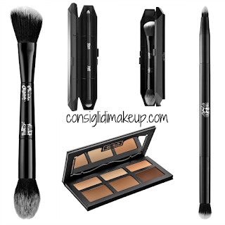 Preview Face Make Up Kat Von D Beauty  composit contour palette pennello viso pennello occhi