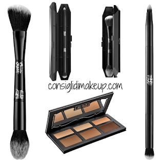 Preview Face Make Up Kat Von D Beauty  composit contour palette pennello viso pennello occhi