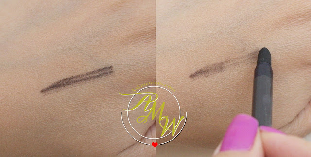 swatch photo of Estee Lauder Double Wear Infinite Women's Waterproof Eyeliner Review