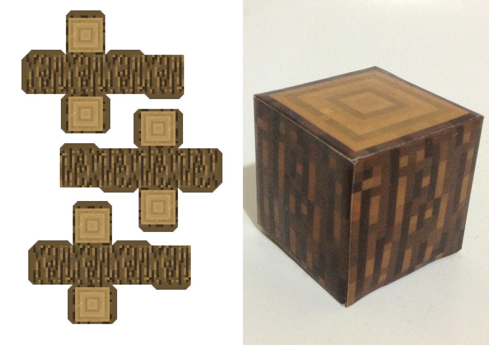Minecraft paper craft paper crafts for Paper craft home