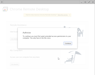 Cara Remote Dekstop Dengan Chrome Remote Desktop