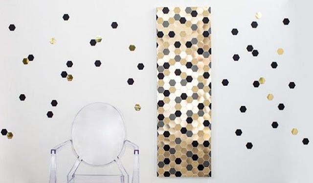 Cara Membuat Hiasan Dinding Kamar dari Kertas Origami yang Mudah