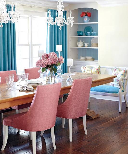 Dining-Room-Eclectic-Shabby-Chic