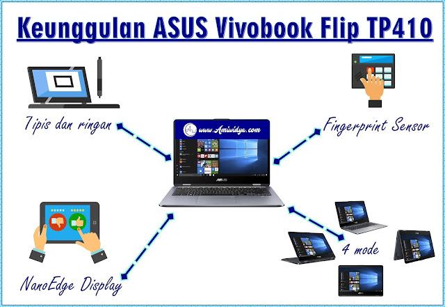 keunggulan ASUS vivobook flip TP410