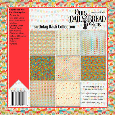 Our Daily Bread Designs Paper Collection: Birthday Bash