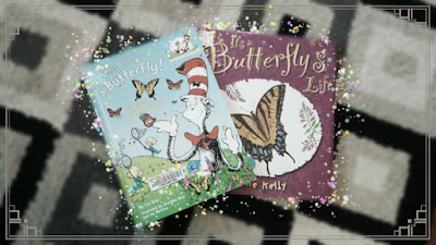 Butterfly books on Reading List as part of a Children's Corner