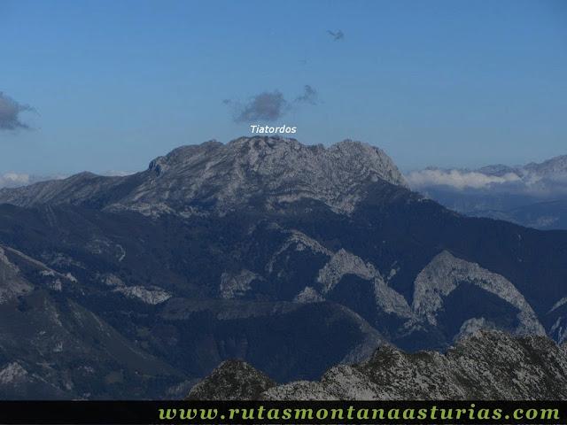 Ruta de los Arrudos y Corteguerón: Vista desde el Corteguerón del Tiatordos