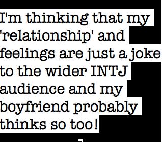 Can intj dating intj