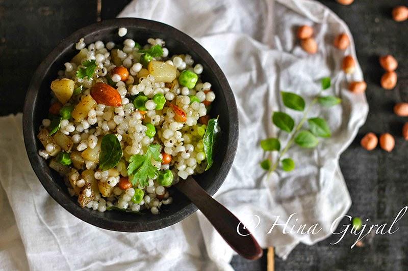 Sabudana Khichdi is one of the best, gluten free snack recipes. Learn how to make best Sabudana Khichdi in few simple steps