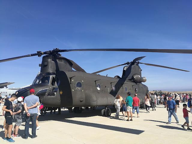 El Gobierno aprueba la inversión de 800 millones de Euros en la modernización de los helicópteros Chinook del Ejército de Tierra