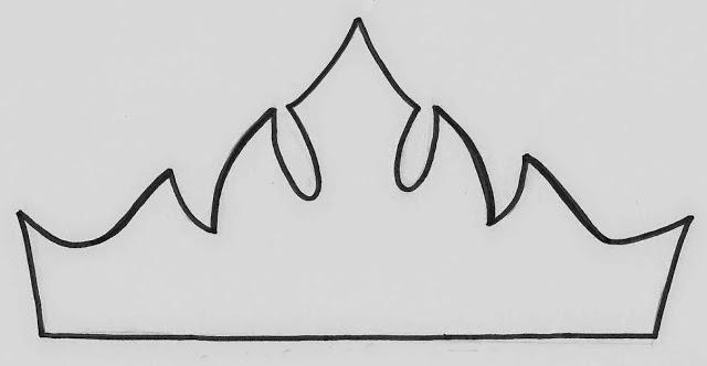 molde de feltro coroa