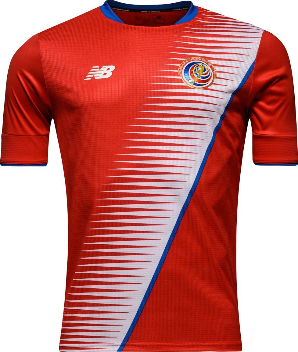 costa rica 2018 world cup qualifiers kit leaked footy