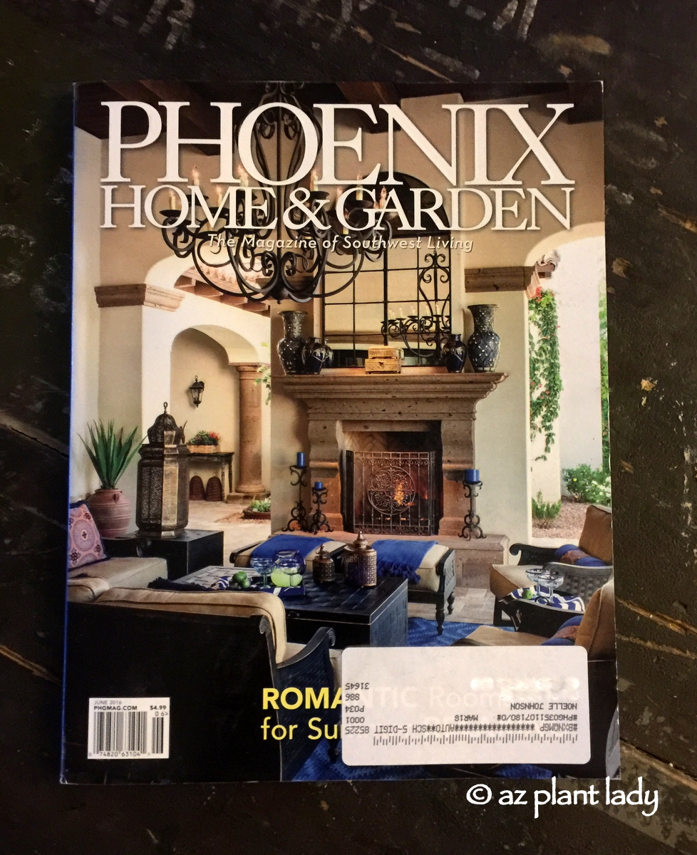 My Favorite Home And Garden Magazine With A Surprise