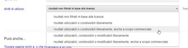 dati-utilizzo-licenza-ricerca-avanzata-immagini