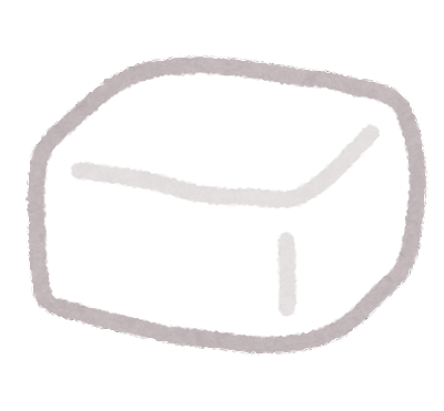 豚脂のイラスト
