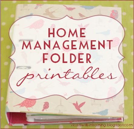 free_home_management_printables