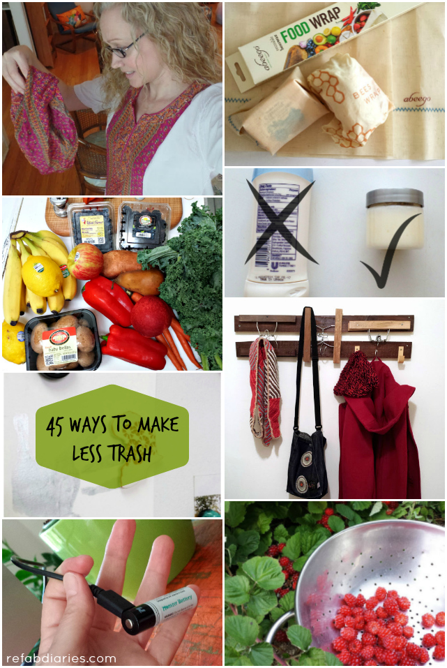 45 ways to make less trash.