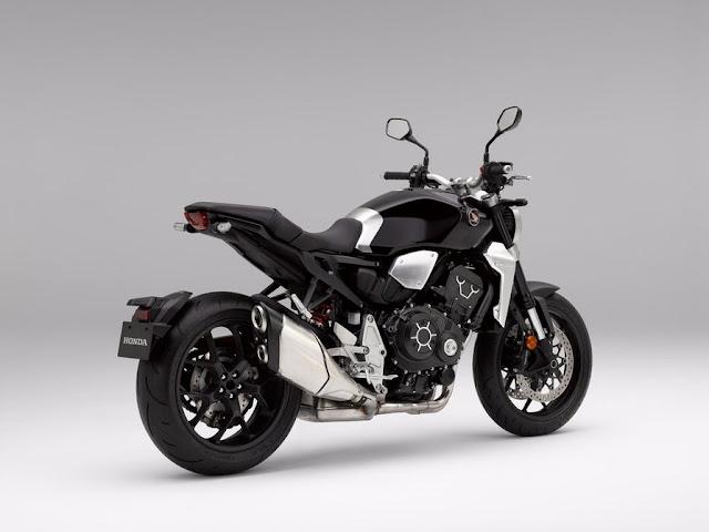 La Honda CB1000R viene con un nuevo exosto