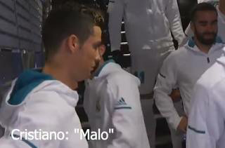 Moment Cristiano Ronaldo calls rival Messi a 'bad' player while conversing with Real Madrid mascots