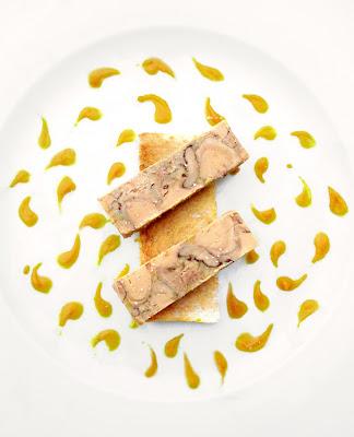 Terrine de Foie Gras Marbrée / Chutney à la Clémentine Corse