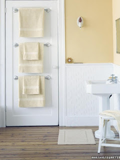 Cara Menyimpan Handuk di Ruang Terbatas