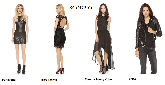 Image result for scorpio fashion