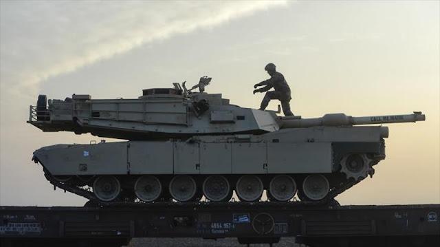 EEUU envía tanques a Rumanía para contrarrestar la amenaza rusa
