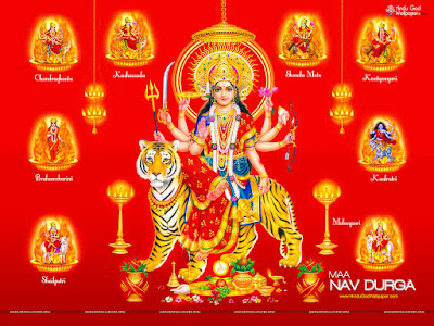 Happy Navratri Latest Wallpaper