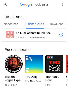 saluran podcast google podcast