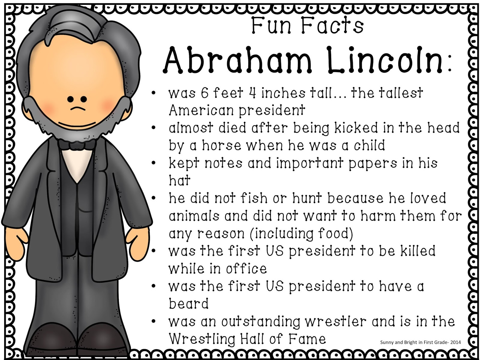 7th Grade Abraham Lincoln Worksheets   Printable Worksheets and Activities  for Teachers [ 1200 x 1600 Pixel ]