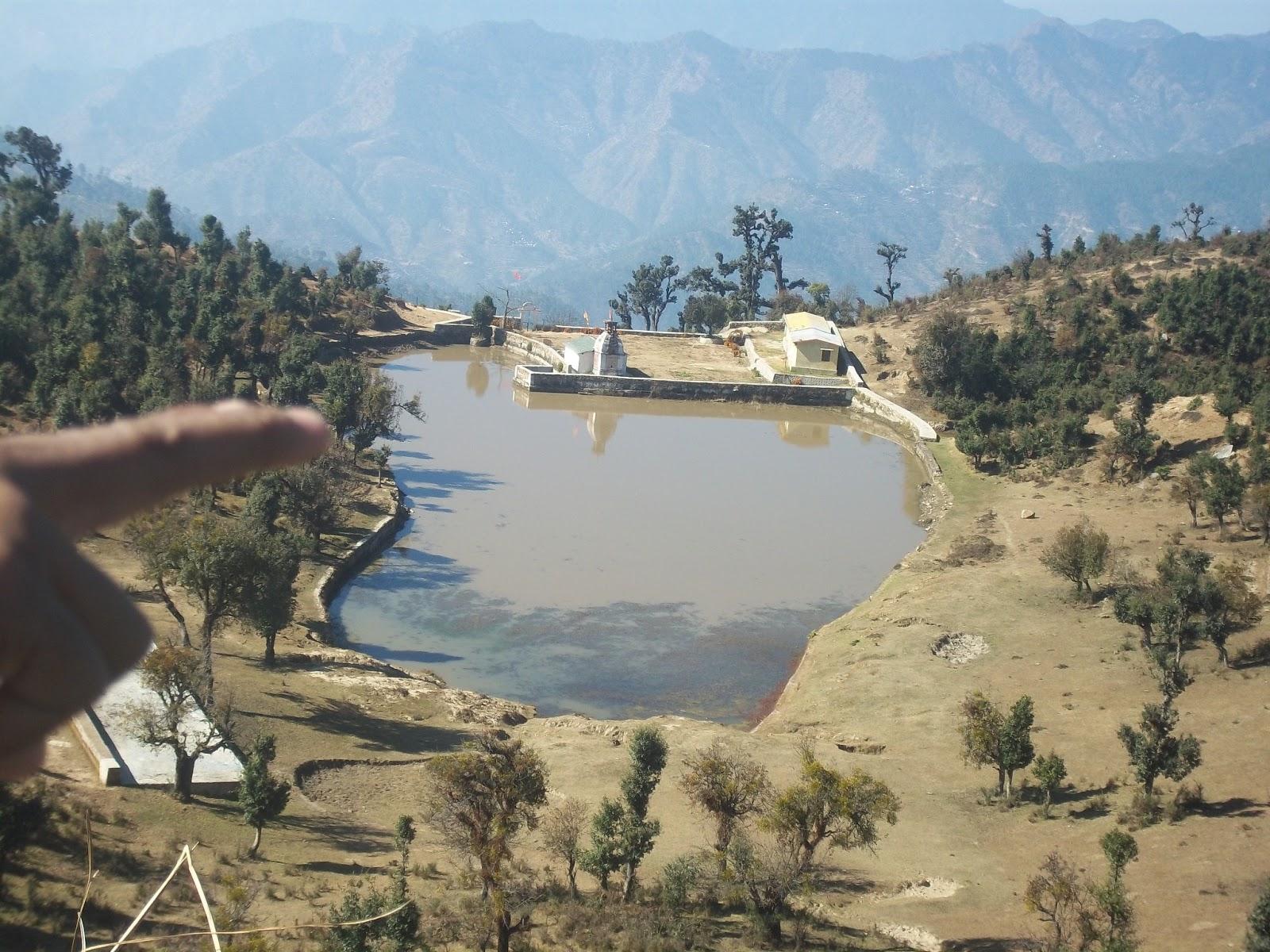 Image result for tara kund pauri garhwal