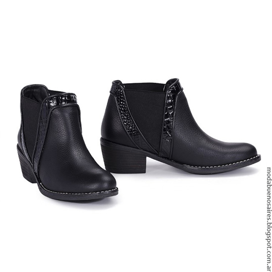 Moda otoño invierno 2016 botas de mujer.