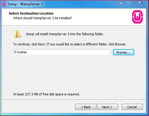WAMP Server Installation Guide for Windows 7 32/64 Bits