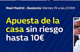 william hill Euroliga Real Madrid vs Baskonia 19 octubre