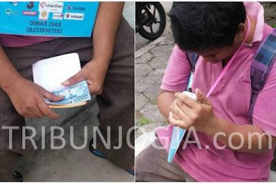Dimas Penjual Pulsa di Jogja