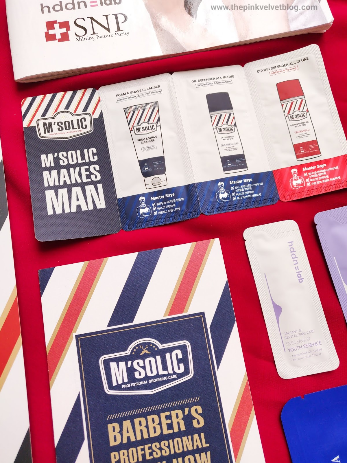 SNP Cosmetics (Korean Skincare Brand) M'Solic Men's Range