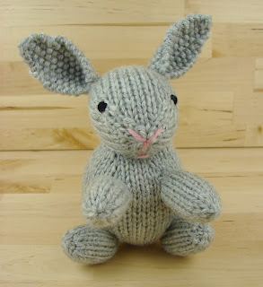 bunny, rabbit, toy, knitting, stuffed, animal