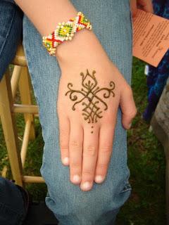 tato gampang di tangan