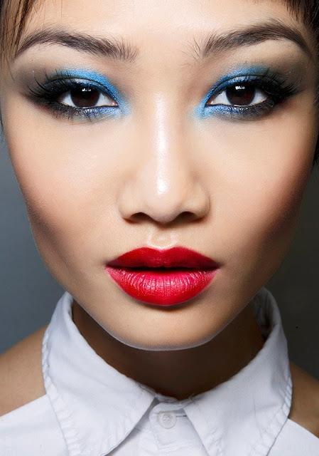 mixing makeup