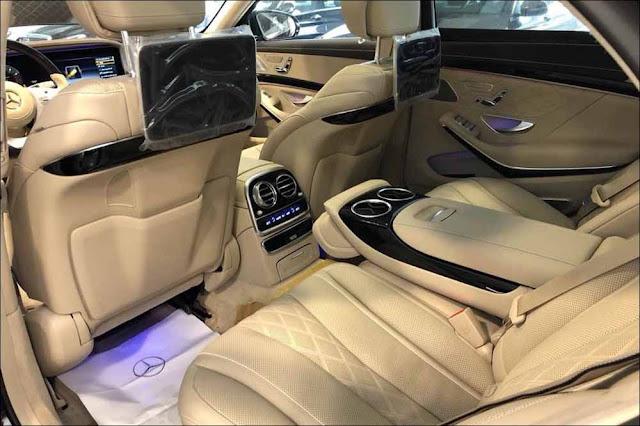 Nội thất sang trọng bên trong chiếc Mercedes S450 L Luxury