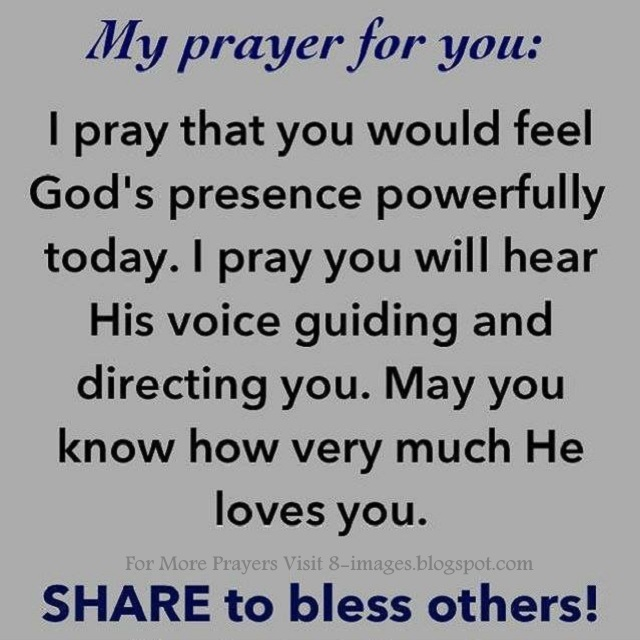 prayer for god s presence quotes