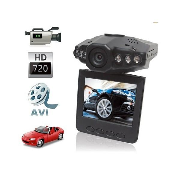 HD Car DVR with 2,5 inch TFT LCD