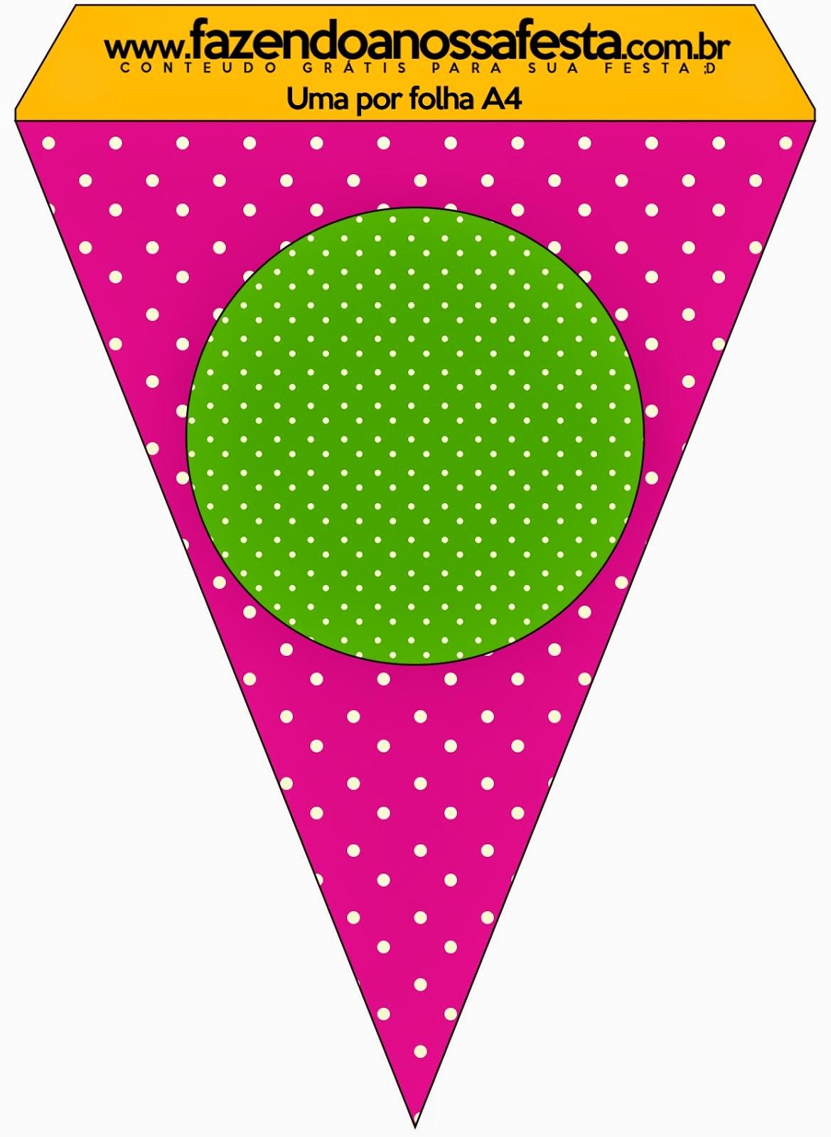 Fucsia Y Verde Imprimibles Gratis Para Fiestas Oh My
