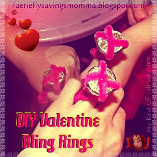 DIY Valentine Rings