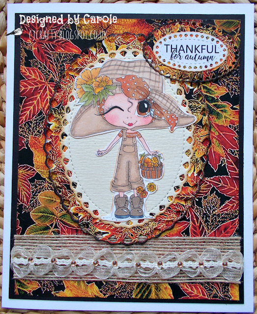 Scrapbook Stamp Society: Autumn