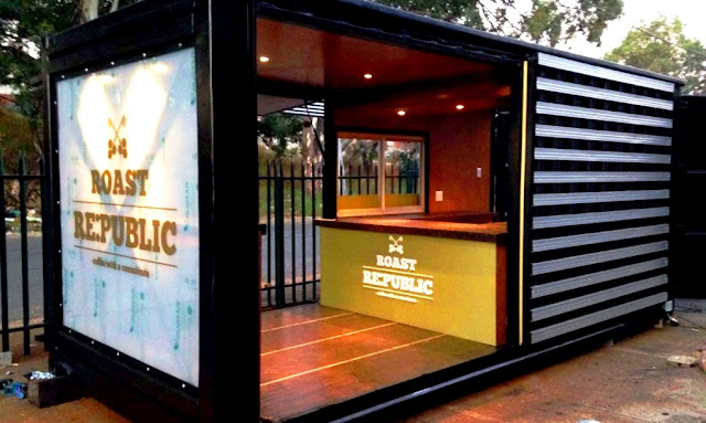 Container Restaurant-Container Restaurant Design