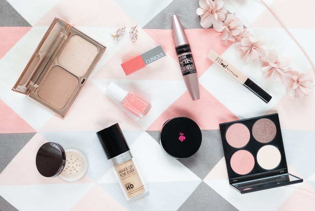Oster Make-up Look alle verwendeten Produkte auf einem Blick