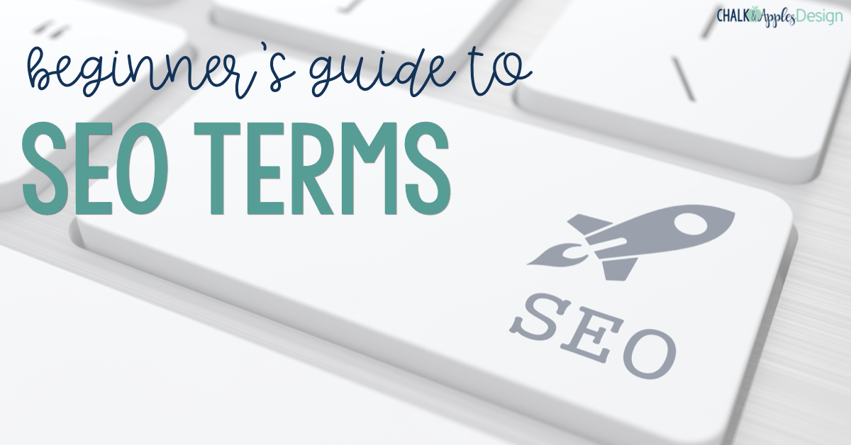 This beginner's guide to SEO terms will break down the most common SEO words and phrases and explain what they mean in non-techy language!